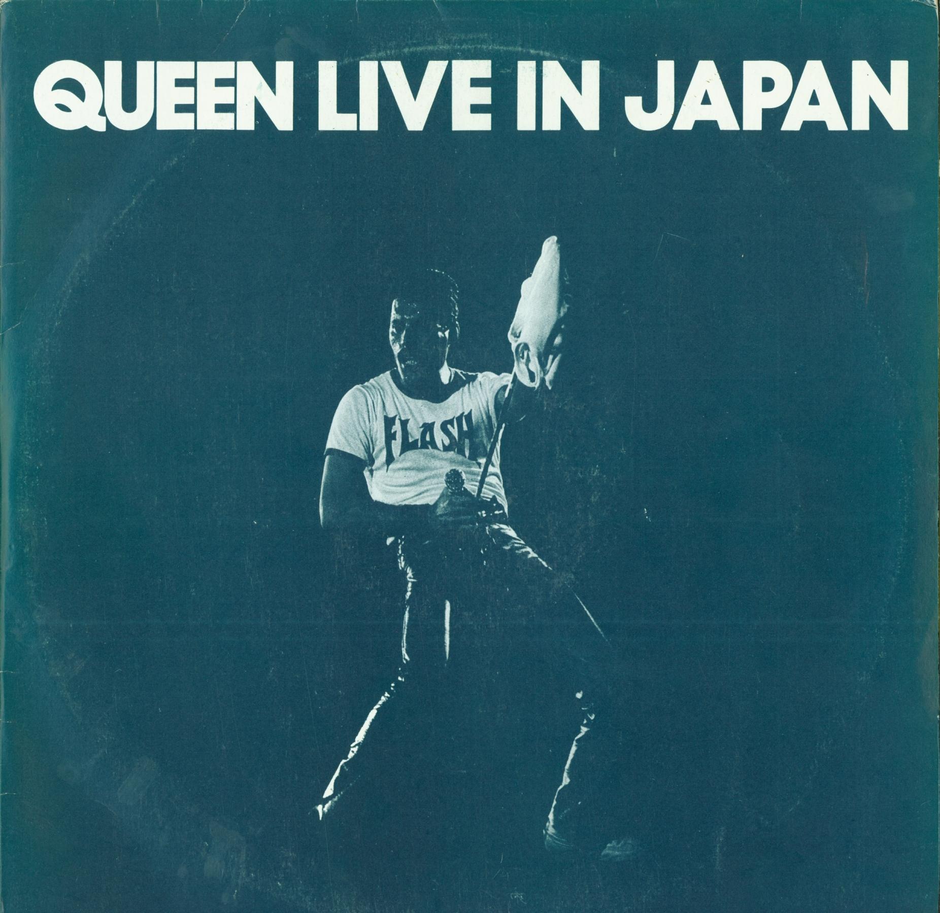 Queen Live In Japan Front Sleeve