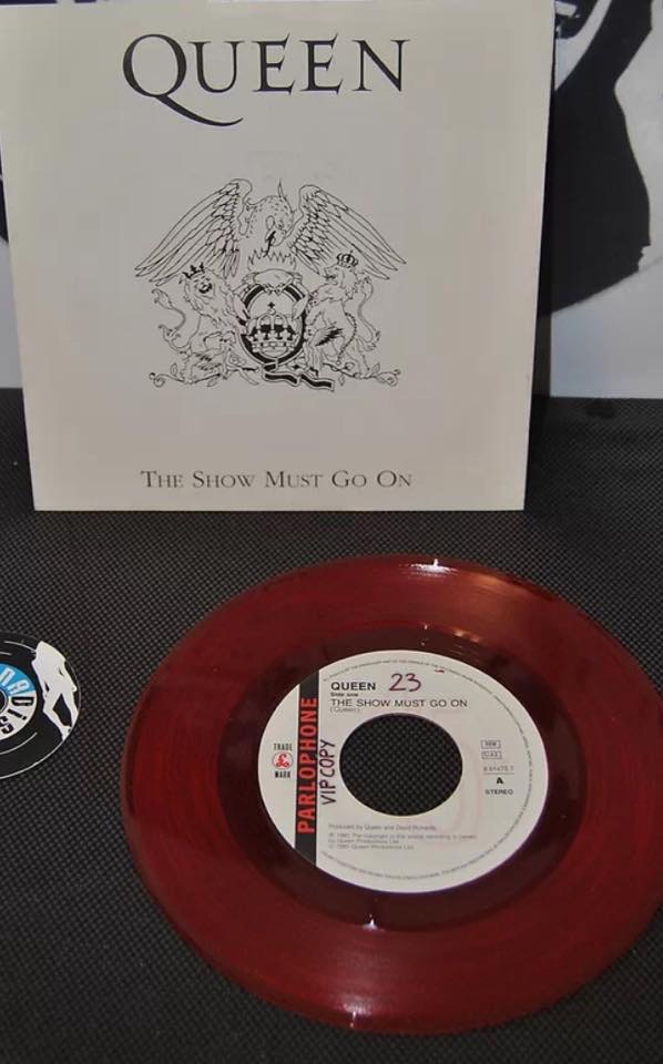 The Show Must Go On Red Vinyl VIP Copy