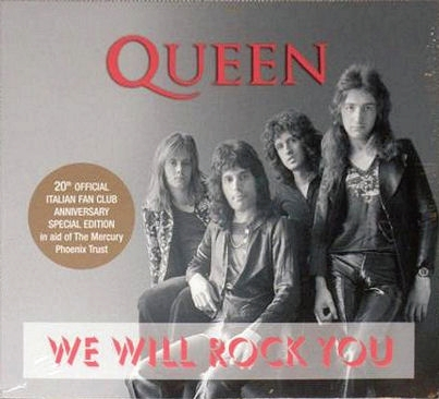 We Will Rock You Special Italian Fanc Clun Issue