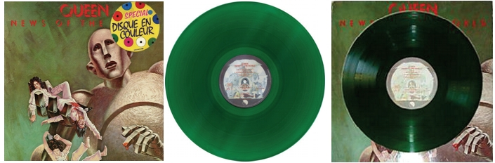 Green Vinyl from France