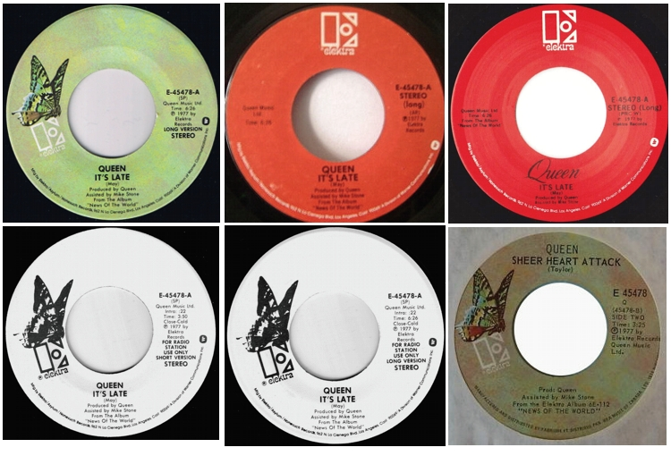 It's Late USA: various labels and demo version; CANADA
