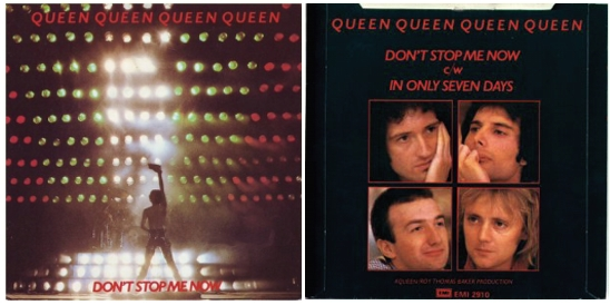 Don't Stop Me Now UK: standard release